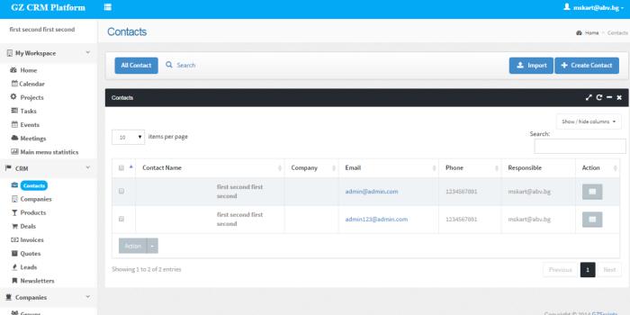 PHP CRM Platform - Cover Image