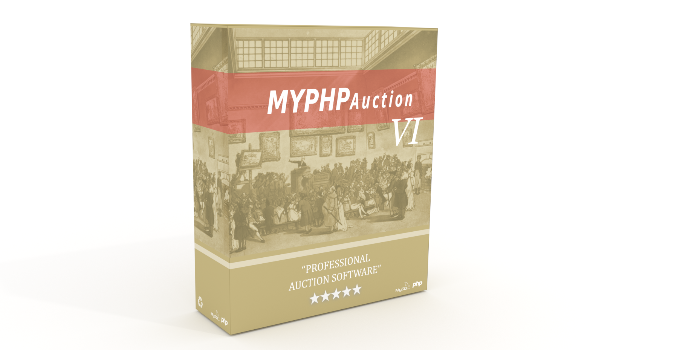 MyPHPAuction - Cover Image