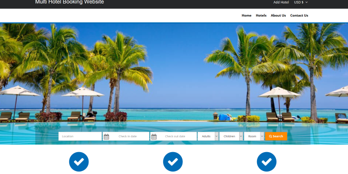 GZ Multi Hotel Booking System - Cover Image
