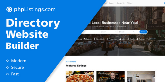 phpListings.com - Business Directory Website Builder - Cover Image