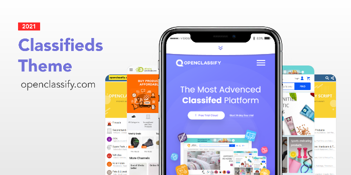 Openclassify - Classified & Marketplace Platform PHP Script - Cover Image