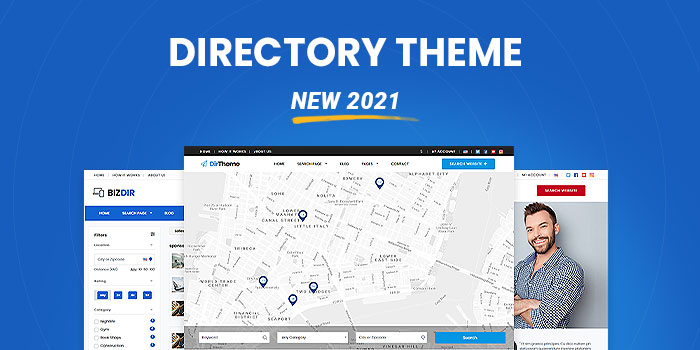 Business Directory Theme  (New 2021)  - Download Now! - Cover Image