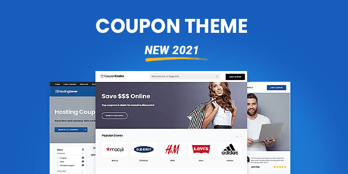 Coupon & Affiliate Theme  (New 2021)  - Download Now! - Cover Image