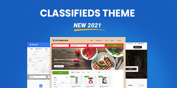 Classifieds Theme  (New 2021)  - Download Now! - Cover Image