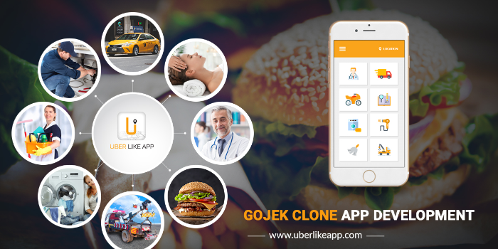 Gojek Clone App Packed With 60+ On-demand Services - Cover Image
