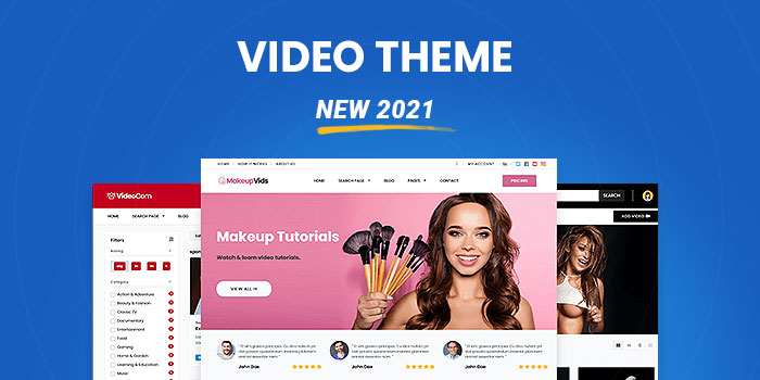 Video Theme: Setup a website like YouTube today  (New 2021)  - Download Now! - Cover Image