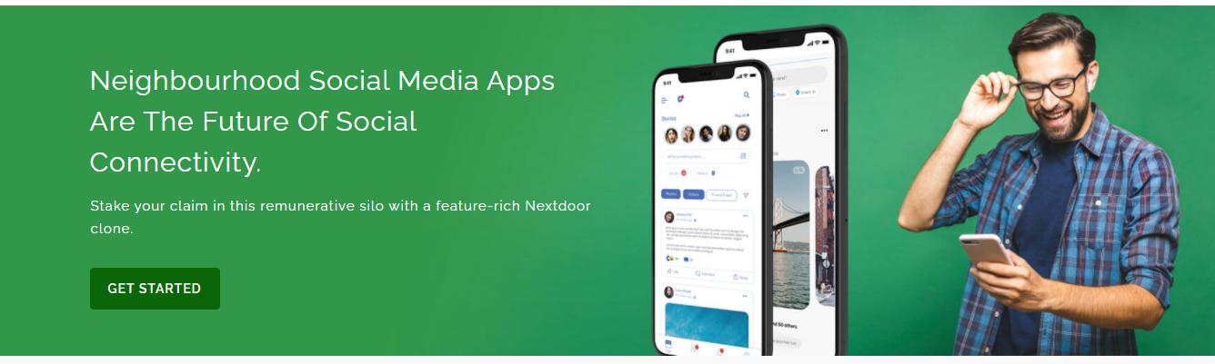 Nextdoor Clone App - Cover Image