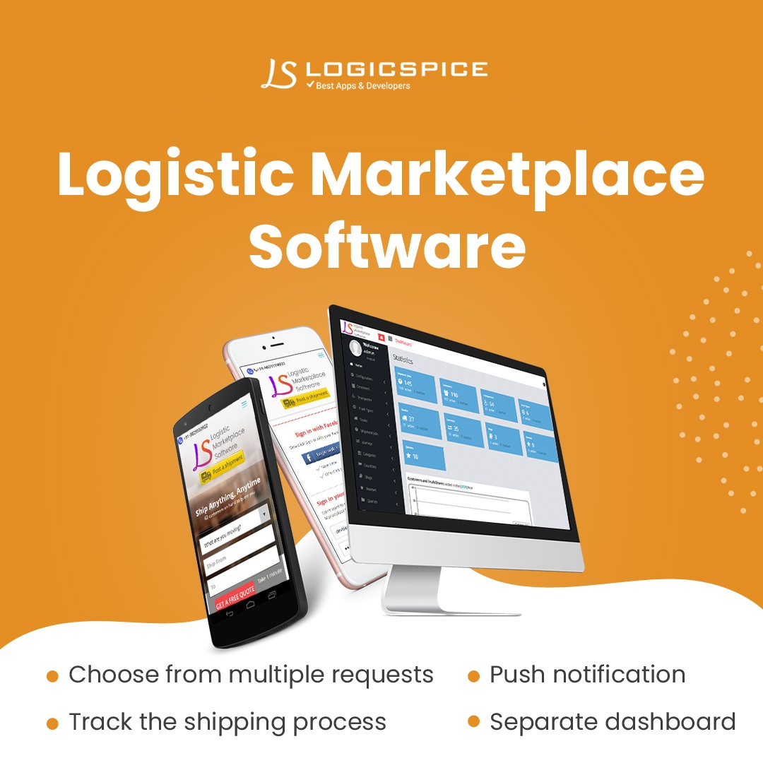 Logistics Management Software | Transportation Management System - Cover Image