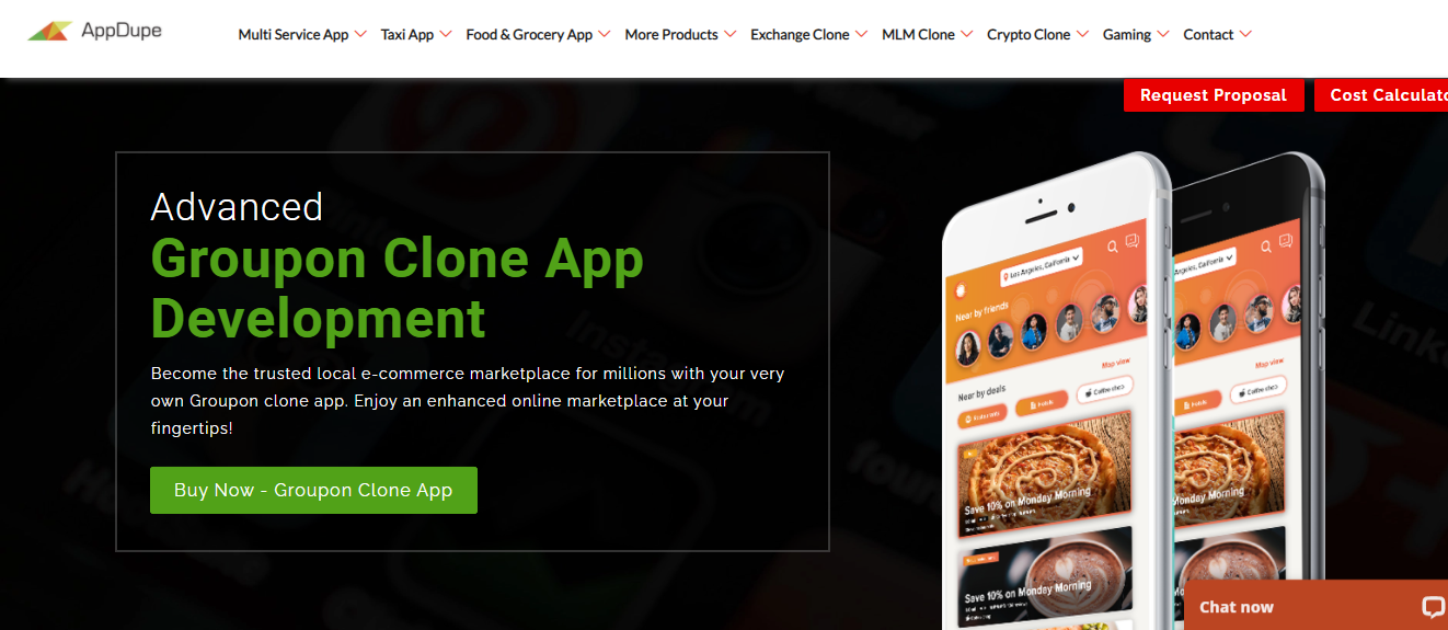 Groupon Clone - Cover Image