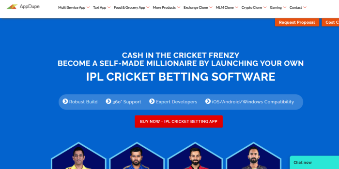 IPL Cricket Betting Software - Cover Image