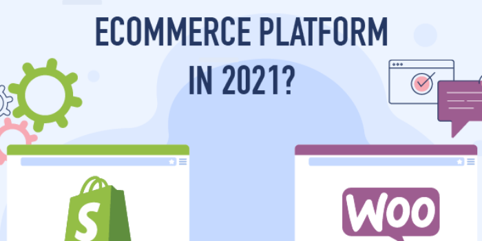 Woocommerce vs Shopify - Cover Image