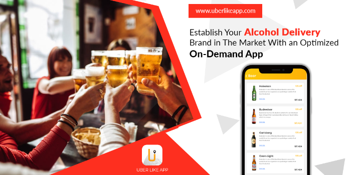 Avail of our on-demand alcohol delivery app development service - Cover Image