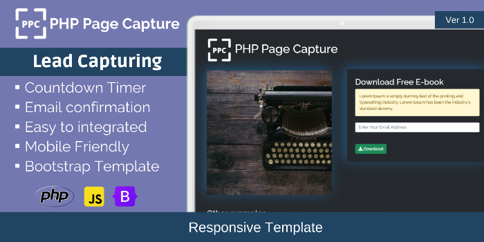 PHP Page Capture - Cover Image