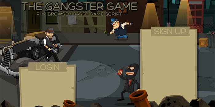 The Gangster Game - Cover Image