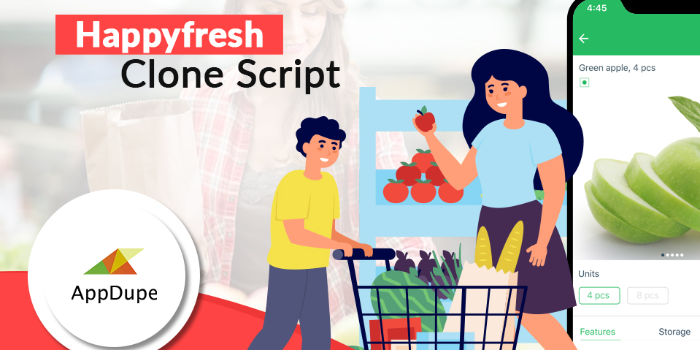 Launch An Exclusive Happyfresh Clone App And Make Fortune Rapidly. - Cover Image