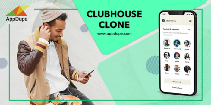 Clubhouse Clone App - Cover Image