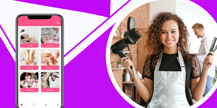 On-demand beauty service app - Cover Image