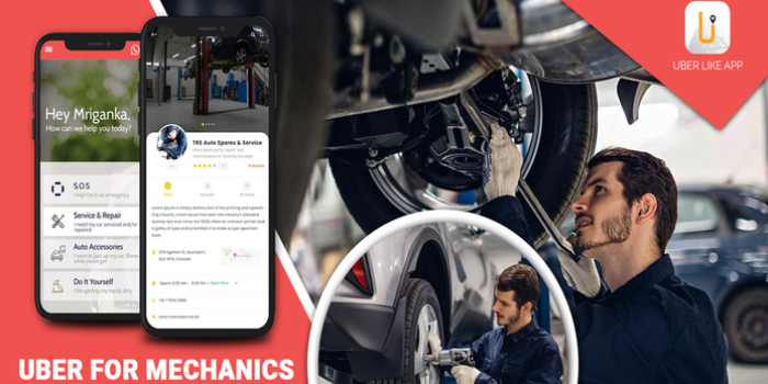Lift your business by opting for Uber for Mechanics app development - Cover Image
