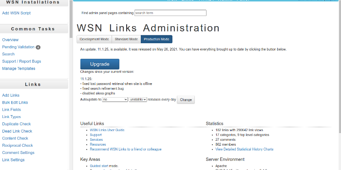 WSN Links - Cover Image