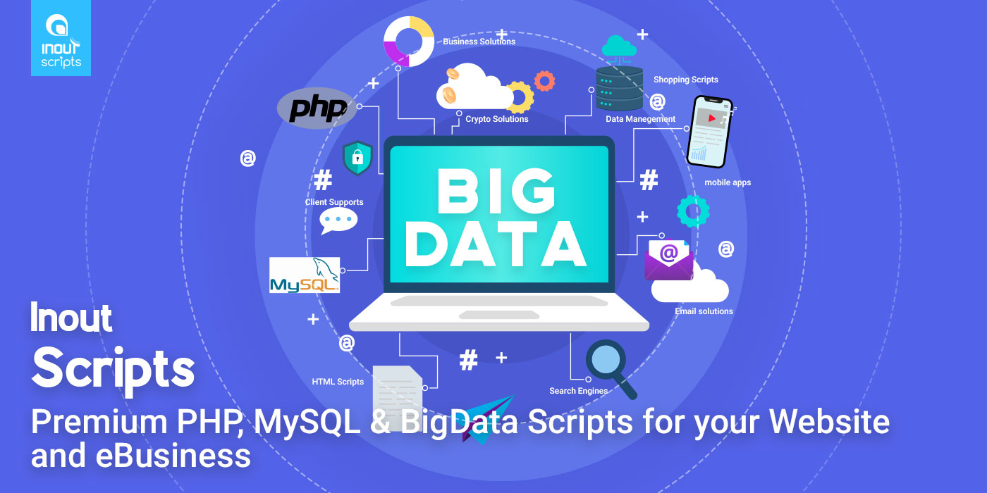 Inout Scripts - Premium PHP, MySQL & BigData Scripts for your Website and eBusiness - Cover Image