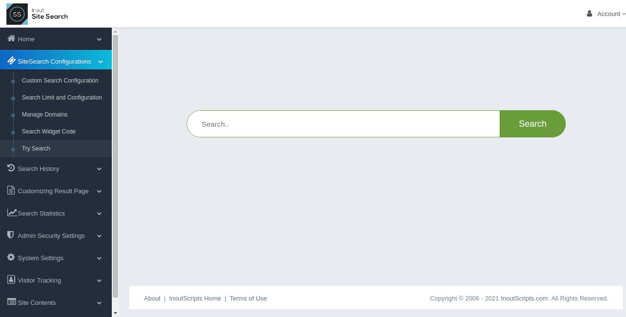 Inout SiteSearch - Screenshot 5