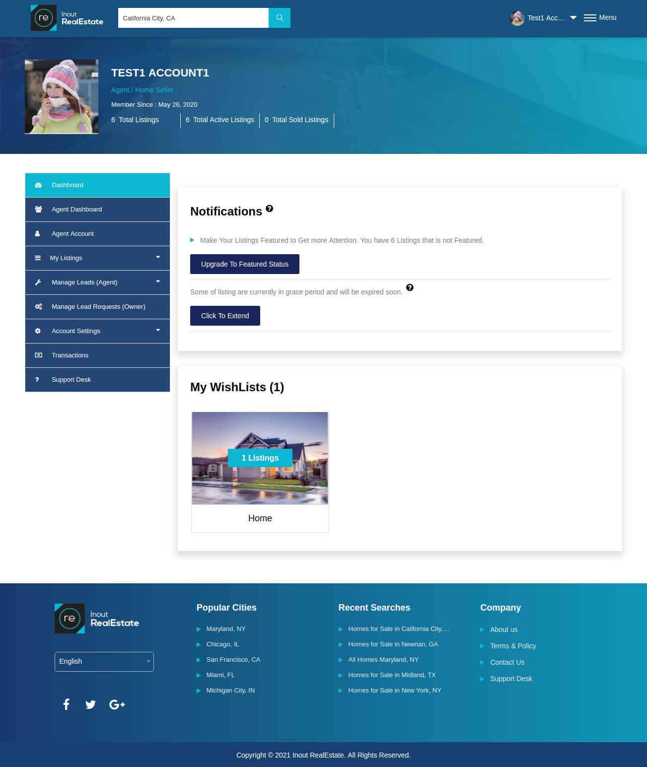 Inout RealEstate - Map Based Advanced Real Estate Portal - Screenshot 4