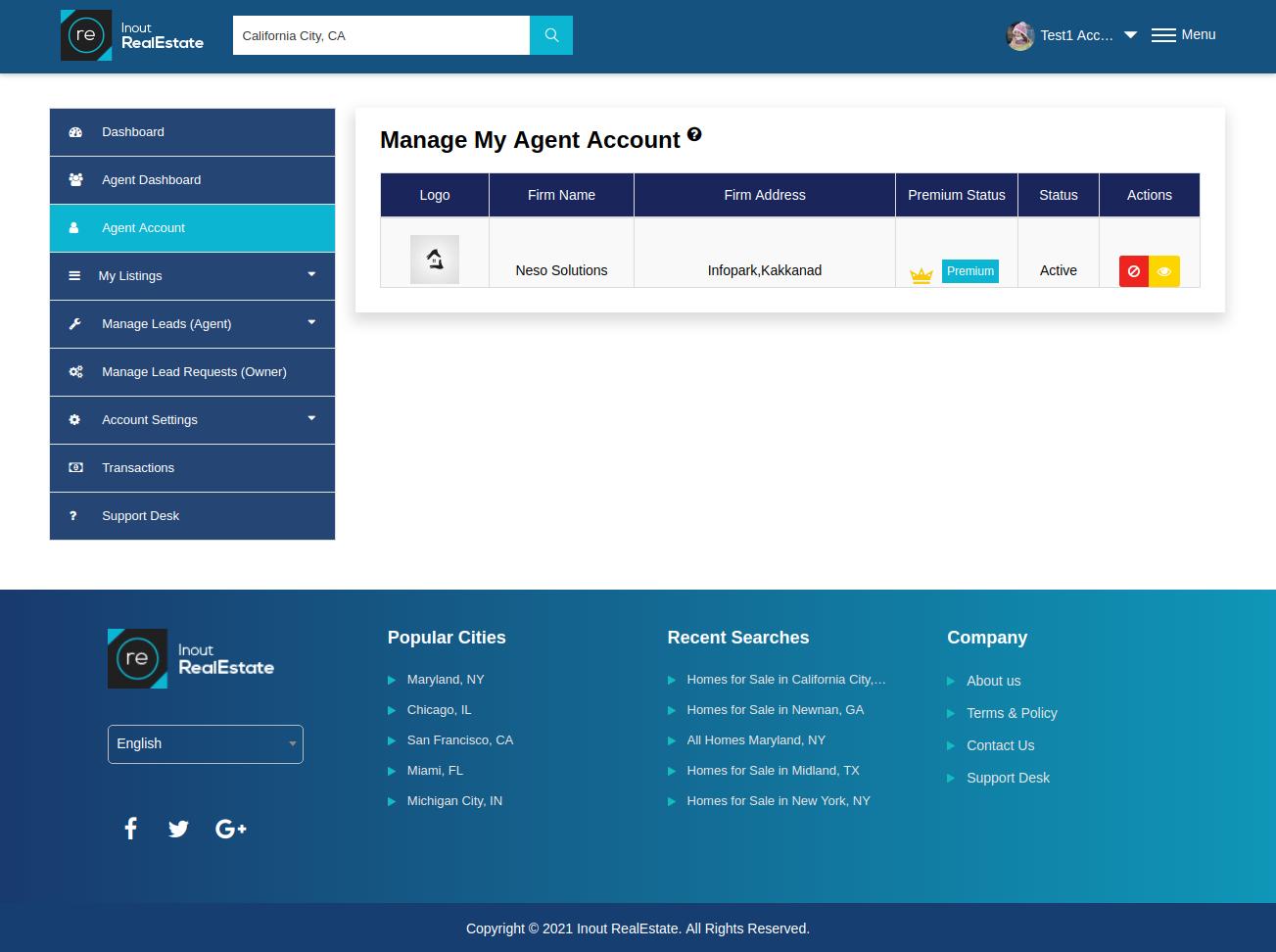 Inout RealEstate - Map Based Advanced Real Estate Portal - Screenshot 7