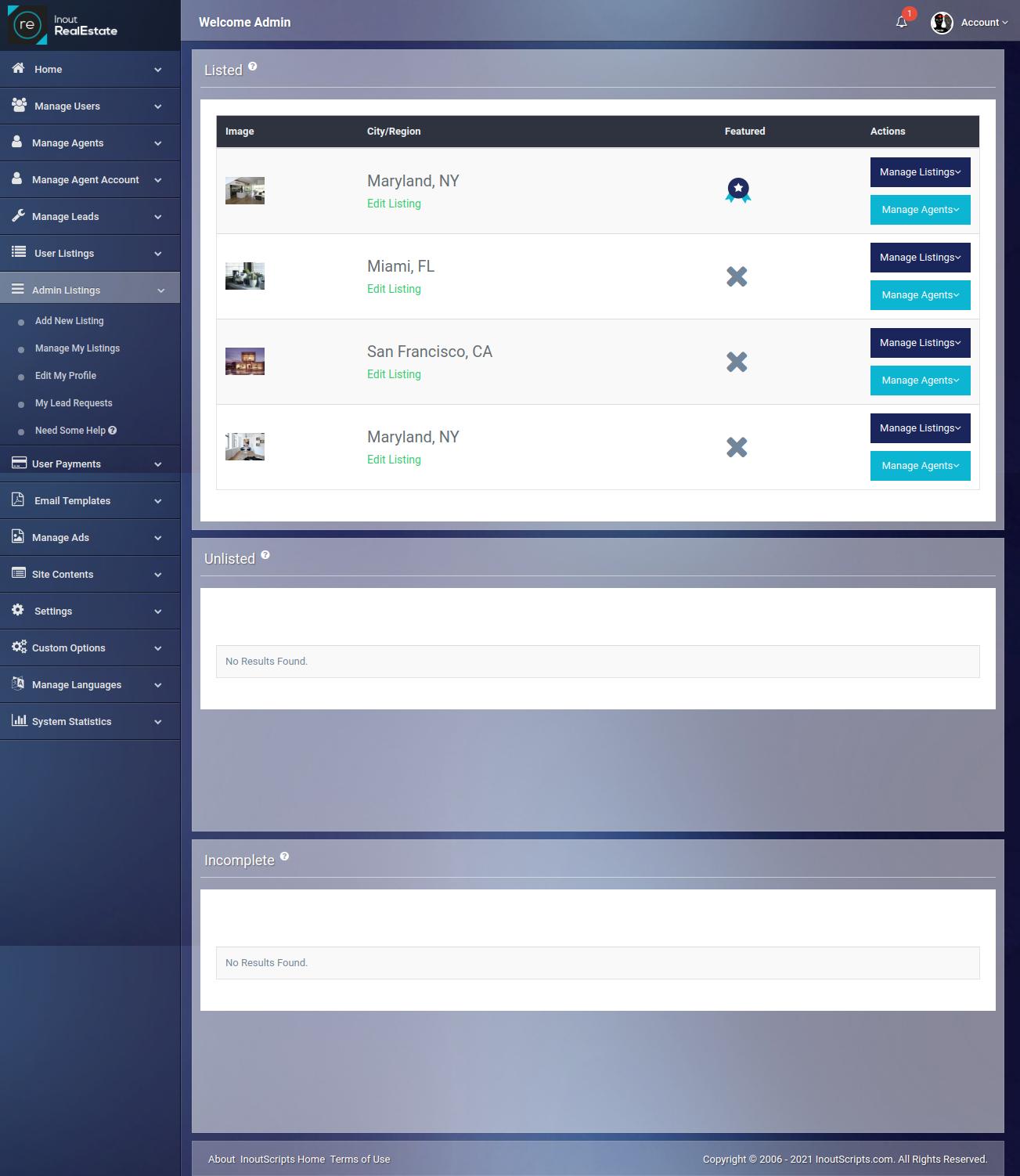 Inout RealEstate - Map Based Advanced Real Estate Portal - Screenshot 9