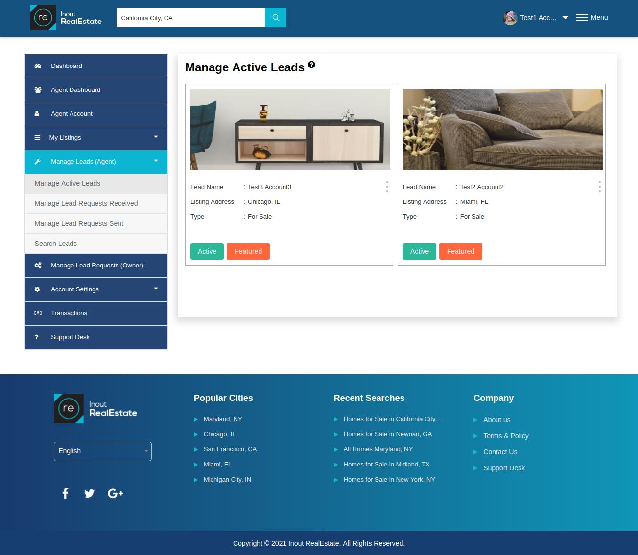 Inout RealEstate - Map Based Advanced Real Estate Portal - Screenshot 6
