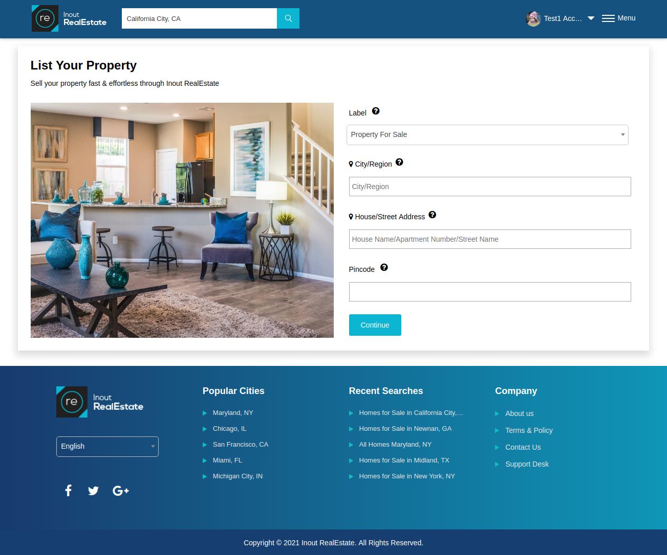 Inout RealEstate - Map Based Advanced Real Estate Portal - Screenshot 5