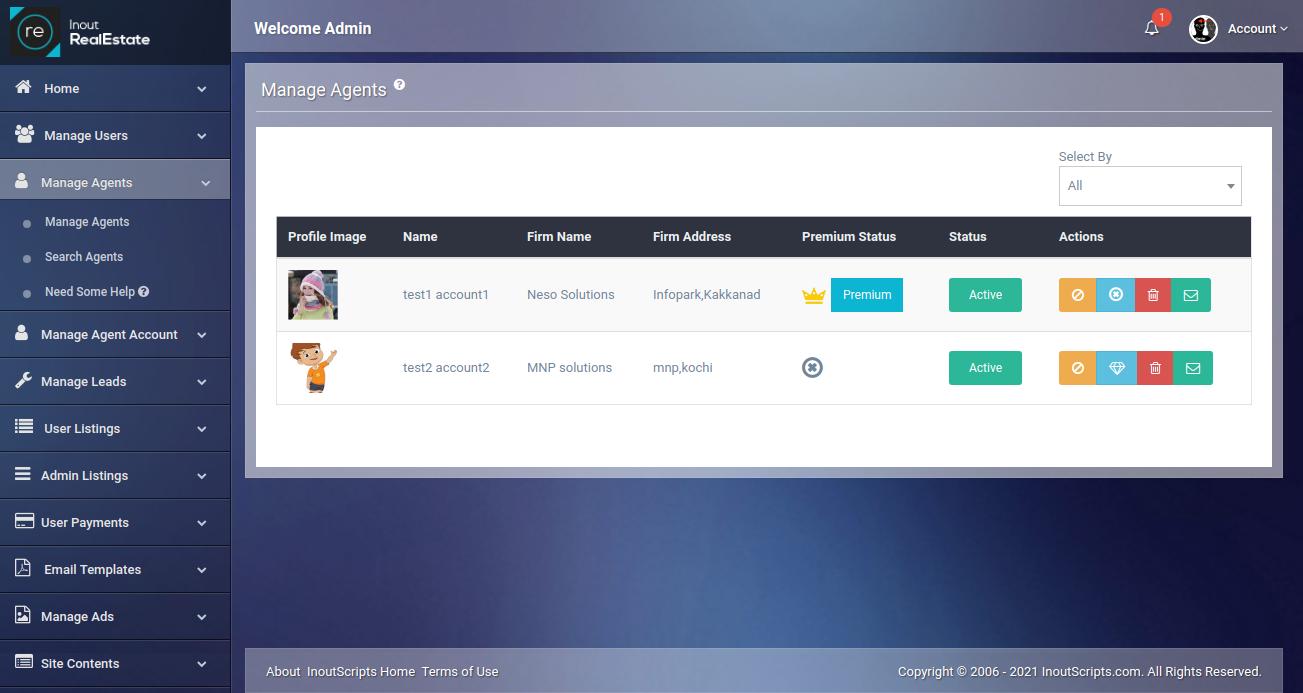 Inout RealEstate - Map Based Advanced Real Estate Portal - Screenshot 8