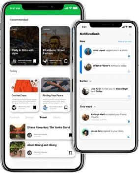 Nextdoor Clone App - Screenshot 1